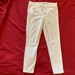 Calvin Klein skinny velvet jeans